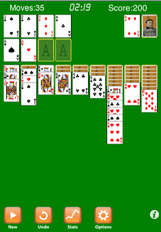 Screenshot Double Solitaire